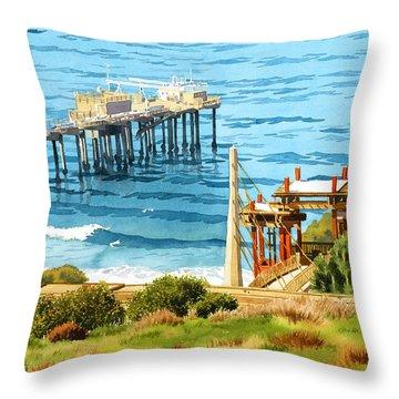 La Jolla Throw Pillows