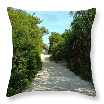 Throw Pillow featuring the photograph Christian Greeting Card  by Bob Sample