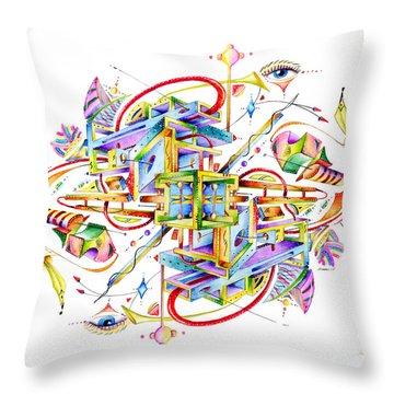 Scryll Throw Pillow