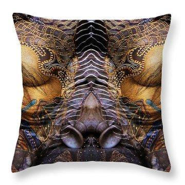 Sculpture 1 Throw Pillow