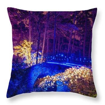 Stone Bridge - Crop Throw Pillow
