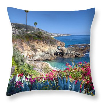 Sea Arch At Montage Resort Throw Pillow