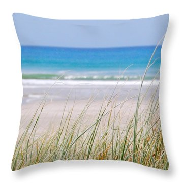 Throw Pillow featuring the photograph Sea Breeze by Jocelyn Friis