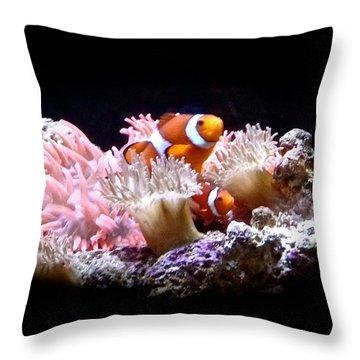 Sea Creatures 3 Throw Pillow
