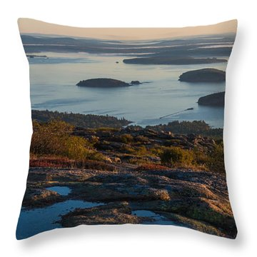 Sea Dots Throw Pillow