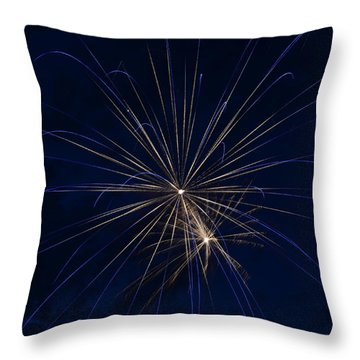 Sea Flower Throw Pillow