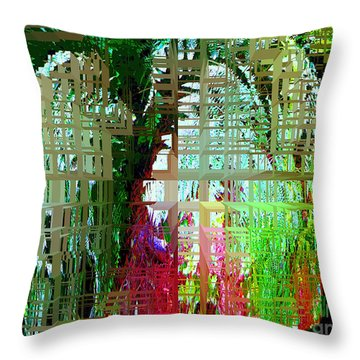 Sea Glass Throw Pillow by Ann Johndro-Collins