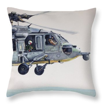 Sea Hawk Throw Pillow