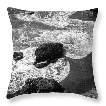 Sea Lion Cove Throw Pillow
