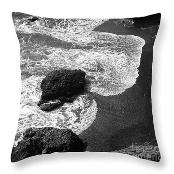 Sea Lion Cove Throw Pillow