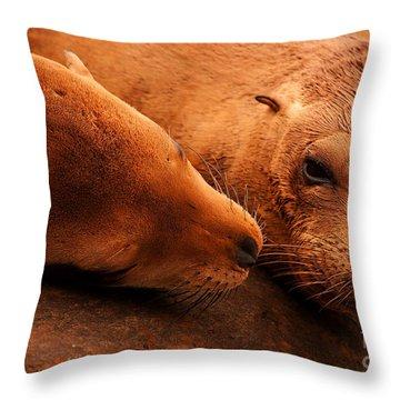 Throw Pillow featuring the photograph La Jolla Love by John F Tsumas