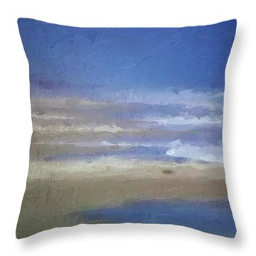 Sea Mist Throw Pillow