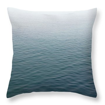 Throw Pillow featuring the photograph Sea Mist by Jane McIlroy