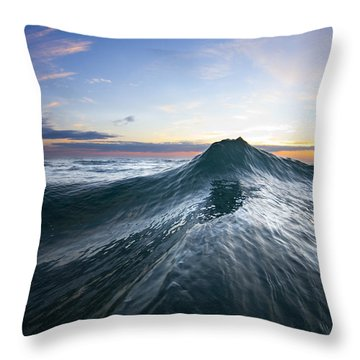 Sea Mountain Throw Pillow