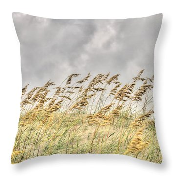 Bend Don't Break Throw Pillow
