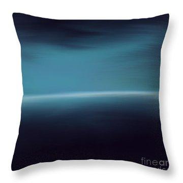 Sea Of Light Throw Pillow