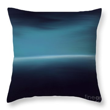Sea Of Light Throw Pillow