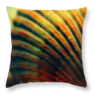 Sea Shell Art 1 Throw Pillow