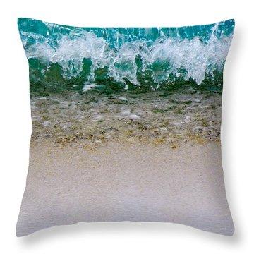 Sea Shore Colors Throw Pillow