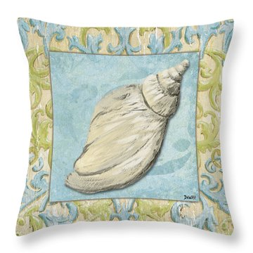 Sea Spa Bath 2 Throw Pillow by Debbie DeWitt