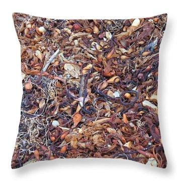 Sea Stuff Throw Pillow