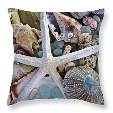 Glass Art Throw Pillows