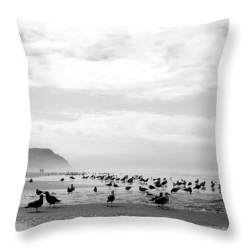 Seabird Horizon Throw Pillow