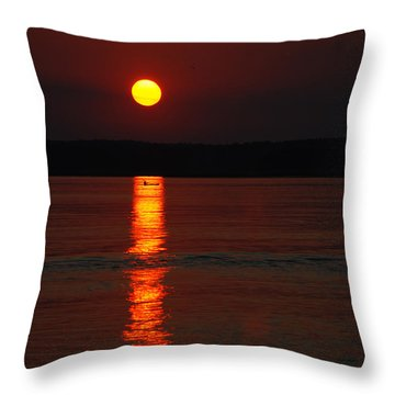 Seabrook Sunset Throw Pillow