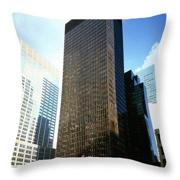 Seagram Throw Pillows