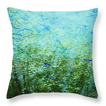 Seagrass Throw Pillow