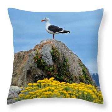 Seagull Throw Pillow