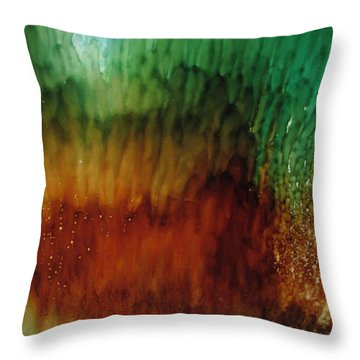 Sealife Throw Pillow by Kathy Sheeran