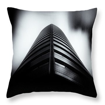 Seam Throw Pillow by Dave Bowman