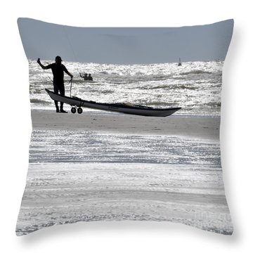 Seaman Throw Pillow