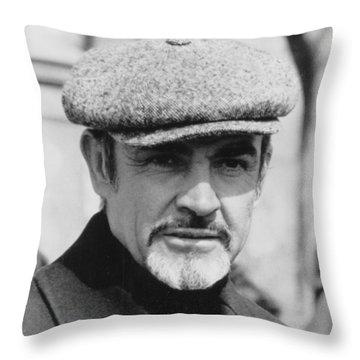 Sean Connery Throw Pillow