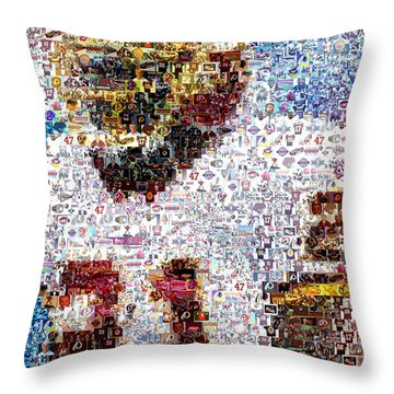 Sean Taylor Mosaic Throw Pillow