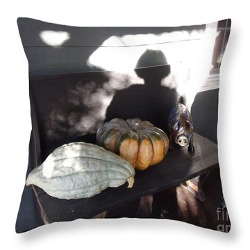 Throw Pillow featuring the photograph Seance  by Lyric Lucas