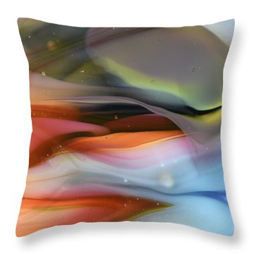 Sea...or Sky? Throw Pillow