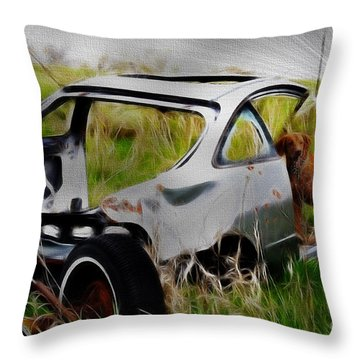 Throw Pillow featuring the photograph Search And Rescue by Liane Wright