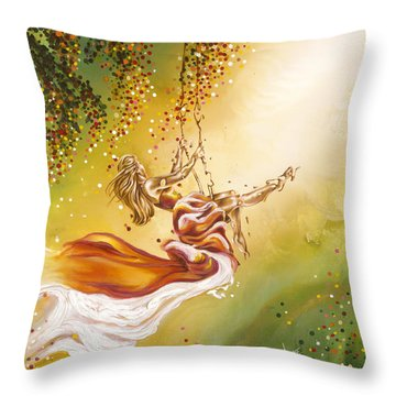 Search For The Sun Throw Pillow