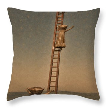 Searching For Anwers Throw Pillow