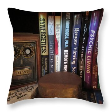 Searching For Enlightenment C Throw Pillow