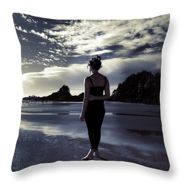 Searching For Meaning Throw Pillow by Lisa Knechtel