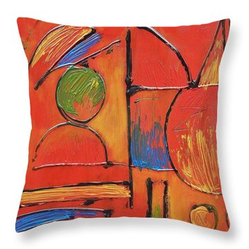 Searching For My Soul Throw Pillow by Jason Williamson