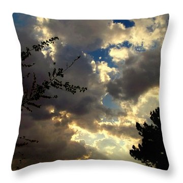 Searchlight Throw Pillow by Glenn McCarthy Art and Photography