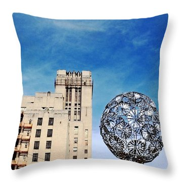 Sears Crosstown Memphis Throw Pillow by Lizi Beard-Ward