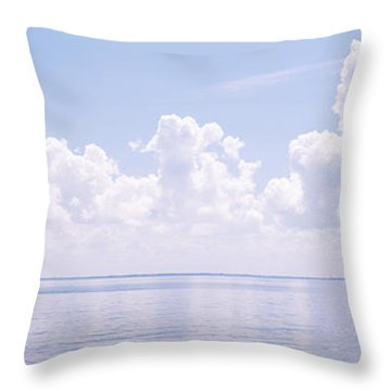 Sunshine Skyway Bridge Throw Pillows