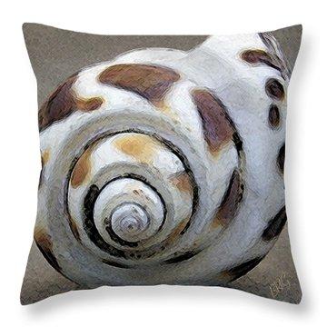 Seashells Spectacular No 2 Throw Pillow