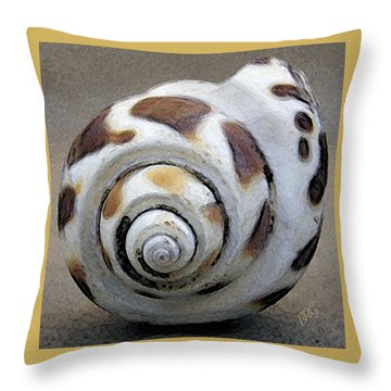Seashells Spectacular No 2 Throw Pillow