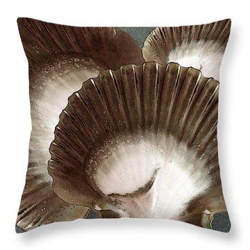 Seashells Spectacular No 22 Throw Pillow